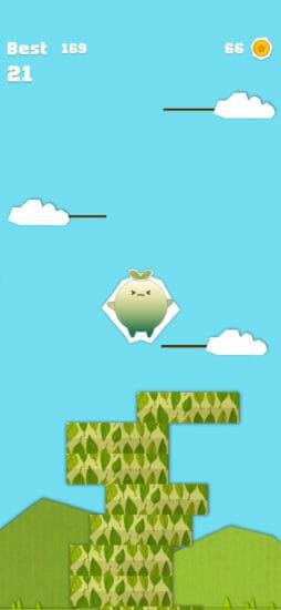 クラフトワールドが舞台のカジュアルゲーム「ペーパージャンプ」アプリストアで配信開始!