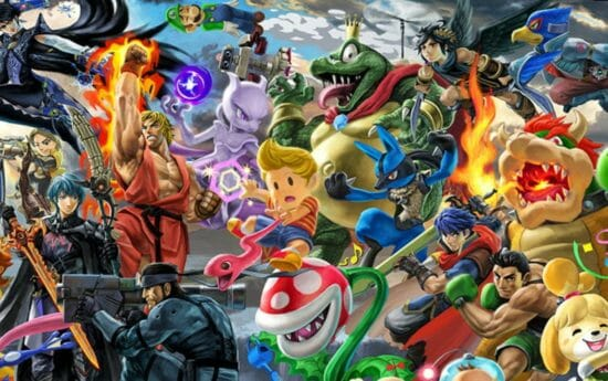 「スマブラSP」スマブラ for 3DS/Wii Uに登場したファイター・ステージ限定のトーナメントイベント開催!