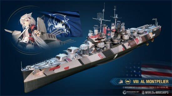 「World of Warships」×「アズールレーン」第三期コラボ開始!
