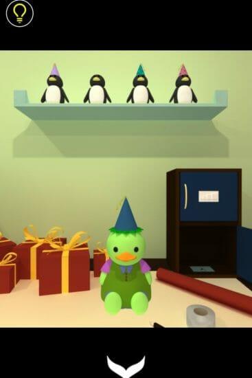 バースデーパーティー (Birthday Party) 攻略 その1(本の数確認~タブレット入手まで)