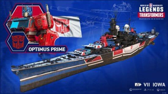 「World of Warships」にトランスフォーマーが緊急参戦!