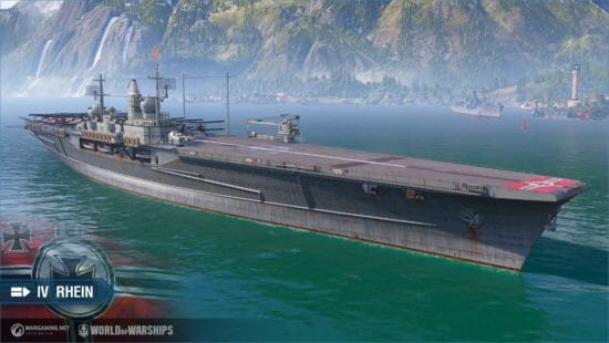 PC版「World of Warships」にドイツ空母が正式に登場!