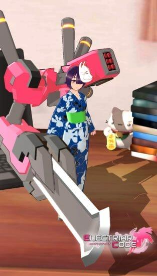 AI美少女が浴衣姿に!「エレクトリアコード」に新ストーリー「伝説の剣豪」を追加!