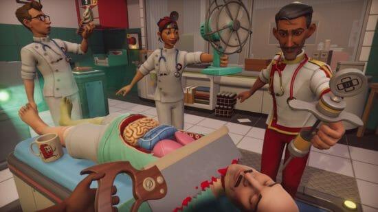 """gamescomで「バック・トゥ・ザ・フューチャー」の""""ドク""""が「Surgeon Simulator 2」リリースを発表!"""