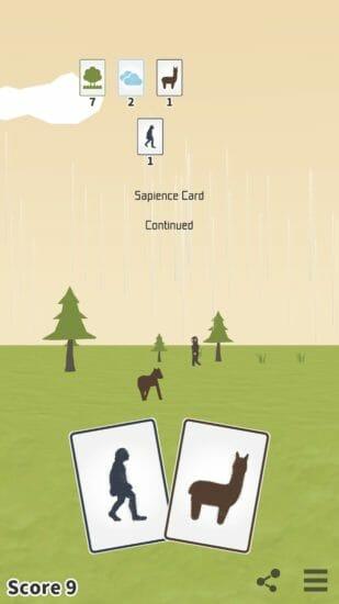 人類の進化がテーマのカードゲーム「サピエンス・カード」配信開始!