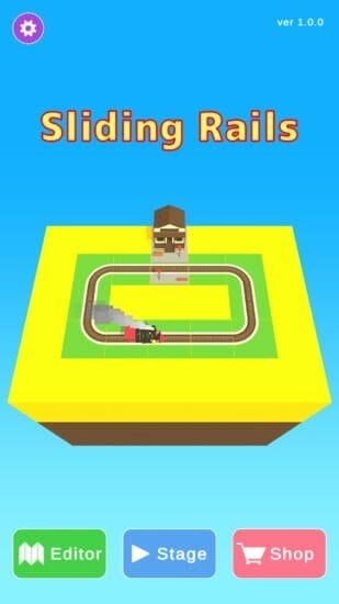 汽車を終点駅に導くパズルゲーム「Sliding Rails」が9月3日に配信開始!