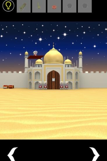アラビアンナイト(Arabian Nights) 攻略 その4(石の位置入力~脱出)