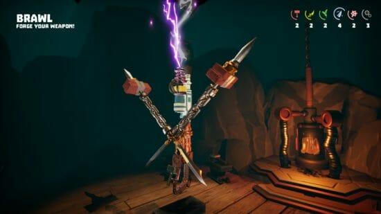 オリジナル武器を作って戦え!「Forge and Fight!」がSteamで配信開始!