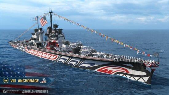 「World of Warships」サービス開始5周年で常設キャンペーン「海軍の五つの時代」が登場!