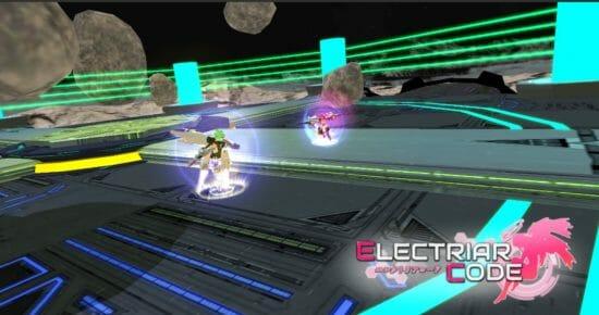 美少女AIが戦う「エレクトリアコード」アップデートで新アリーナと新装備を追加!