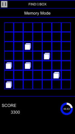 記憶力の限界に挑戦だ!カジュアルゲーム「FindBox」がアプリストアで配信開始!
