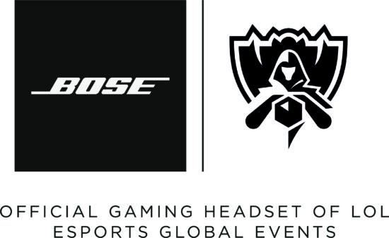 「LoL Esports」国際大会公式ヘッドセットがBoseに決定!