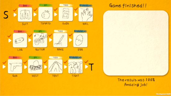 ひとりでも遊べる絵しりとり「イラストチェイナー」の英語版が登場!