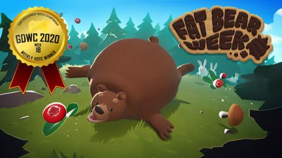 ゲーム開発世界選手権で「Team Fat Bears」が開発した「Fat Bear Week」が1位に!