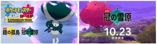 「ポケモン剣盾」追加DLC「冠の雪原」の新情報が到着!すべての伝説ポケモンたちがここに集結!