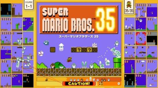 マリオでバトロワ!?Nintendo Switch「スーパーマリオブラザーズ 35」配信開始!