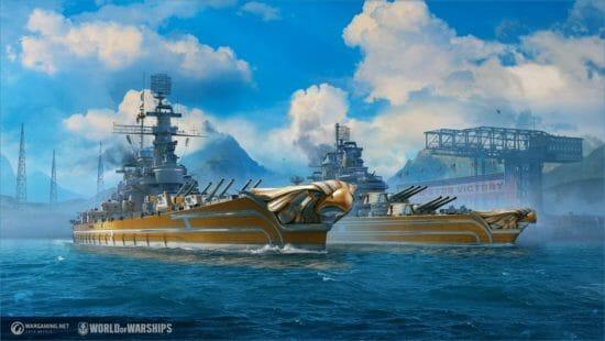 「World of Warships」にアメリカ戦艦の「カンサス」「ミネソタ」が登場!