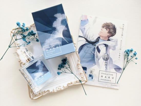 「恋とプロデューサー~EVOL×LOVE~」キャラをモチーフにしたフレグランス発売を記念したプレゼントキャンペーン開催!