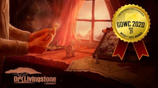 「ゲーム開発世界選手権(GDWC)」19世紀の灼熱のアフリカを舞台にした謎解きゲーム「Dr Livingstone, I Presume?」が1位に!