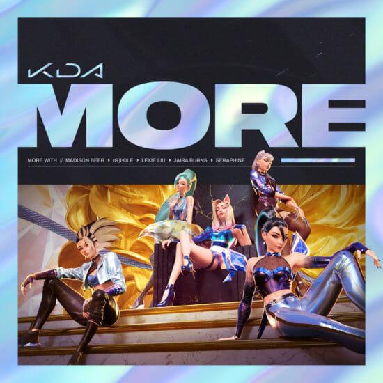 LoLのバーチャルポップグループ「K/DA」、新曲「MORE」を発表、MVも公開!