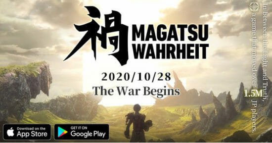 KLab、モバイルオンラインRPG「禍つヴァールハイト」のグローバル版「Magatsu Wahrheit」を配信開始!