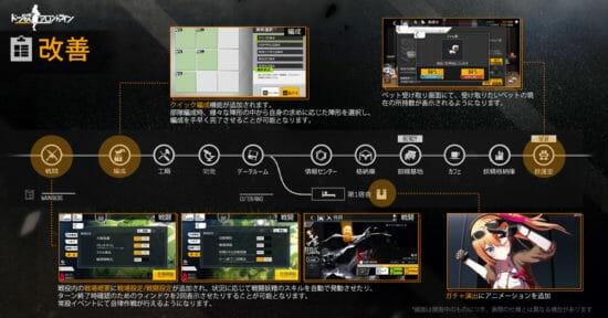 「ドールズフロントライン」が遊びやすくなるアップデートを11月20日に実施へ!