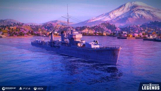 「World of Warships: Legends」日本艦艇が続々登場!ブラックフライデー限定の黒い艦艇も!