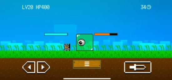 画面の向きで変化するゲーム「ピクセルスライム3」がApp Storeでセール中!