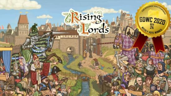 「ゲーム開発世界選手権」先週のファン投票1位はドイツのゲームスタジオArgonwoodが制作した「Rising Lords」