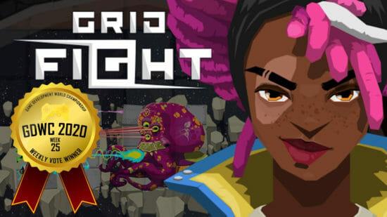 ゲーム開発世界選手権、今週の1位はアクションストラテジーRPG「Grid Fight」に