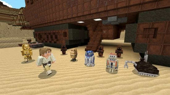 Switch版「Minecraft」で新コンテンツパック「スター・ウォーズ」が配信開始!