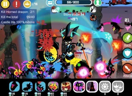 シルエットデザインが美しい「Black Kingdom(黒王国戦争)」がApp Storeでセール中!