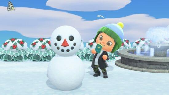 「あつまれ どうぶつの森」冬の無料アップデートが11月19日に配信!クリスマスを楽しもう!