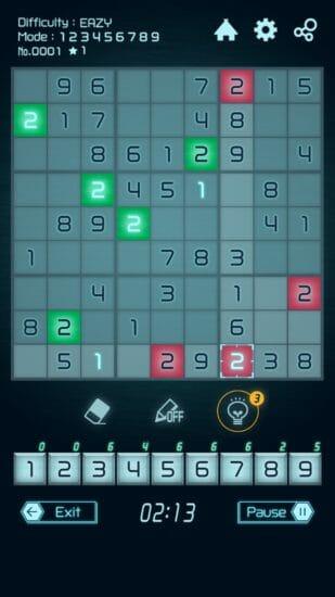 漢数字や「ンコ数字」でも楽しめる!定番脳トレパズル「ナンプレ」のiOS版がリリース!