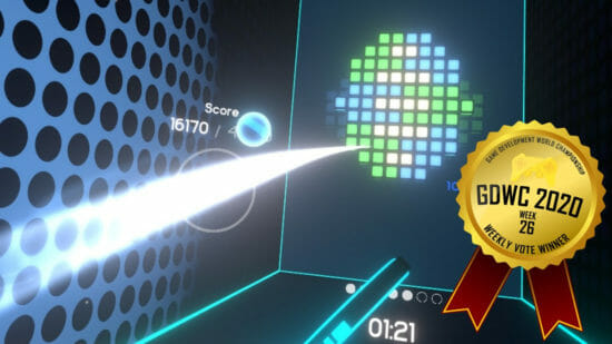 ゲーム開発世界選手権、今週の1位はVRアーケードゲーム「Quash」に