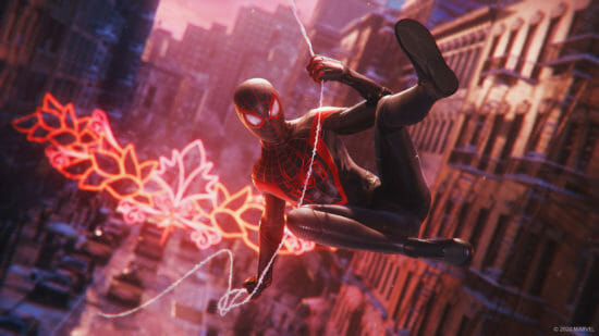 PS4/PS5用ソフト「Marvel's Spider-Man Miles Morales」が11月12日に発売!
