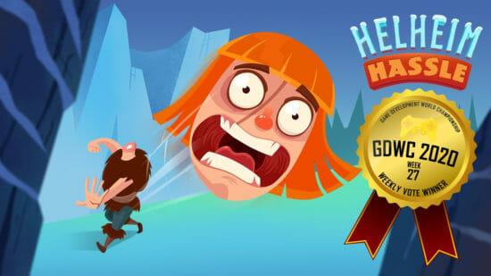 ゲーム開発世界選手権、今週の1位はパズルアドベンチャー「Helheim Hassle」が1位に