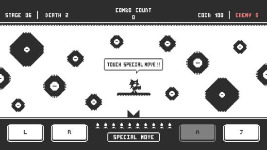 敵の攻撃を避けろ!スマホ向け2Dアクションゲーム「単眼ショット」配信開始!