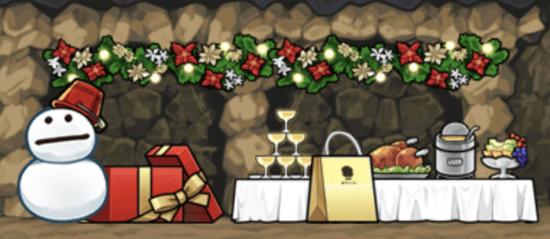 スマホ向けゲーム「なめこの巣」でクリスマスイベント「ボンボン・デ・ノエル」開催!