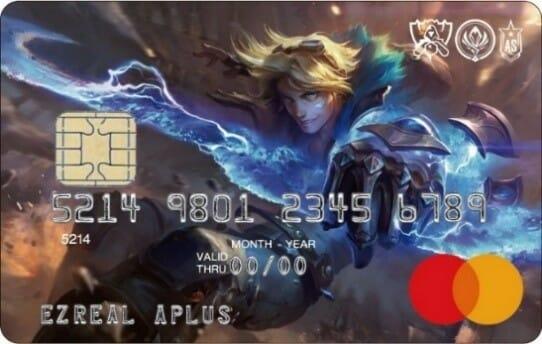 日本初!LoLの人気チャンピオン「エズリアル」をデザインに採用したMastercardが登場!
