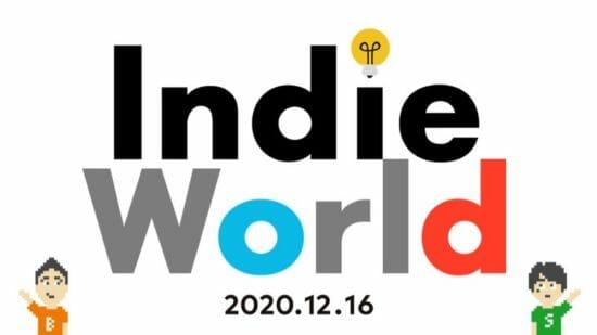 任天堂、インディーゲームを紹介する映像「Indie World 2020.12.16」を公開!