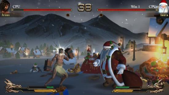 クリスマスイブにSwitch向け格闘ゲーム「Fight of Gods」パッケージ版が発売!