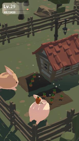 放置育成ゲーム「うさぎがもっとかわいすぎてつらい」がアプリストアで配信開始!