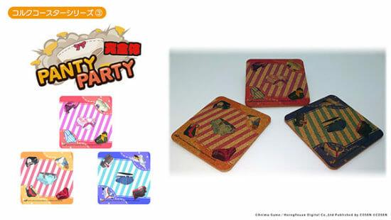 健全なパンティゲーム「PantyParty完全体」や「狐が僕を待っている」などのコルクコースターが2021年1月に発売!