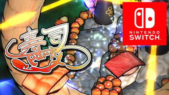 銀河を救うためにエビがマグロを成敗する!Switch向けシューティングゲーム「寿司パーティー」が1月28日から配信開始