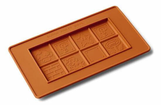 「8-bitマリオ」の板チョコトレーが登場!バレンタインデーにもおすすめな「スーパーマリオ ホーム&パーティグッズ」の新商品が発売
