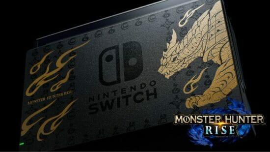 「Nintendo Switch モンスターハンターライズ スペシャルエディション」が3月26日に発売決定!メインモンスター「マガイマガド」があしらわれた特別デザイン