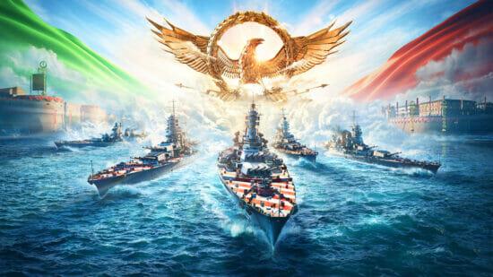 「World of Warships」に新たなイタリア戦艦が参戦!サンバ・スクールとのスペシャルコラボも