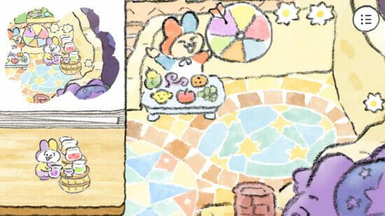 ヒントを見ながらピースを正しく配置する絵合わせパズルゲーム「ねこのデザイナー」