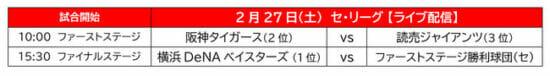 「eBASEBALL プロリーグ」の2020シーズン eクライマックスシリーズが2月27日・28日に開催!試合はライブ配信を予定